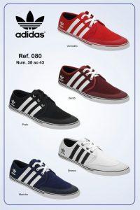 Grade Fechada 15 Pares Sapatenis Adidas – Ref 080
