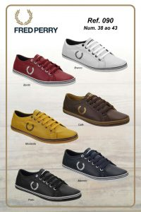 Grade Fechada 12 Pares Fred Perry – 090