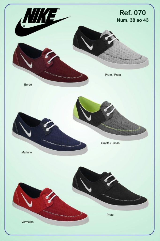 Grade Fechada 12 Pares Sapatênis Nike – Ref 070