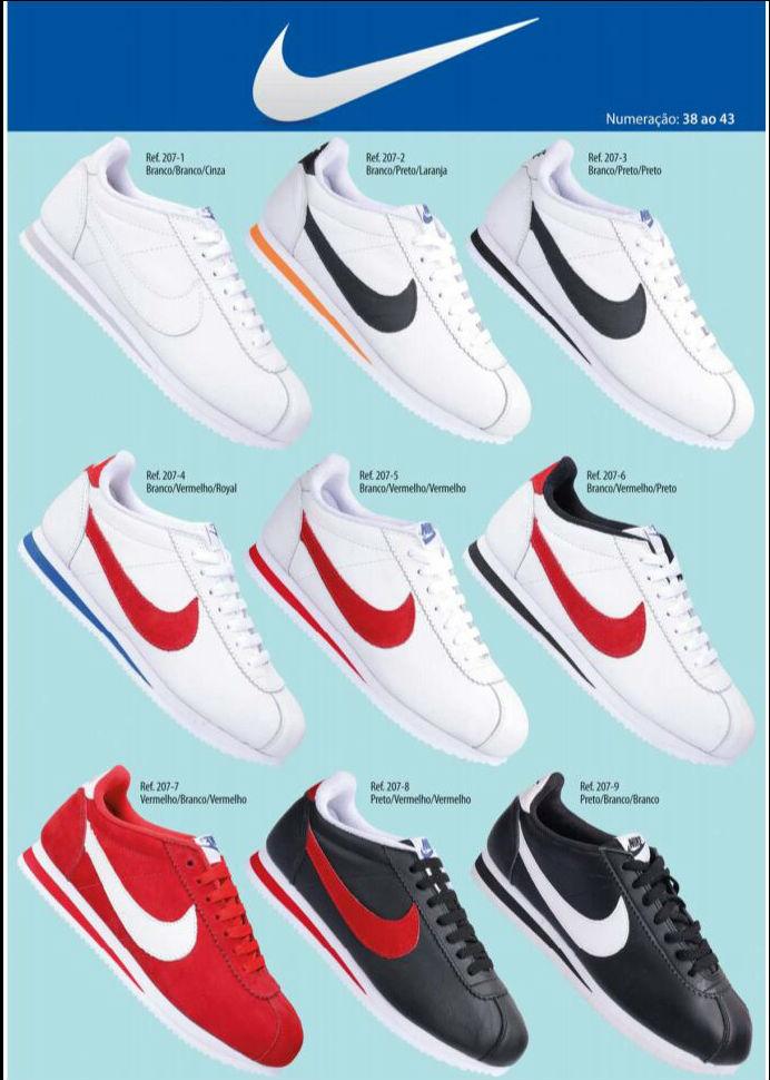 Grade Fechada 12 Pares Nike Cortez – Ref 2071