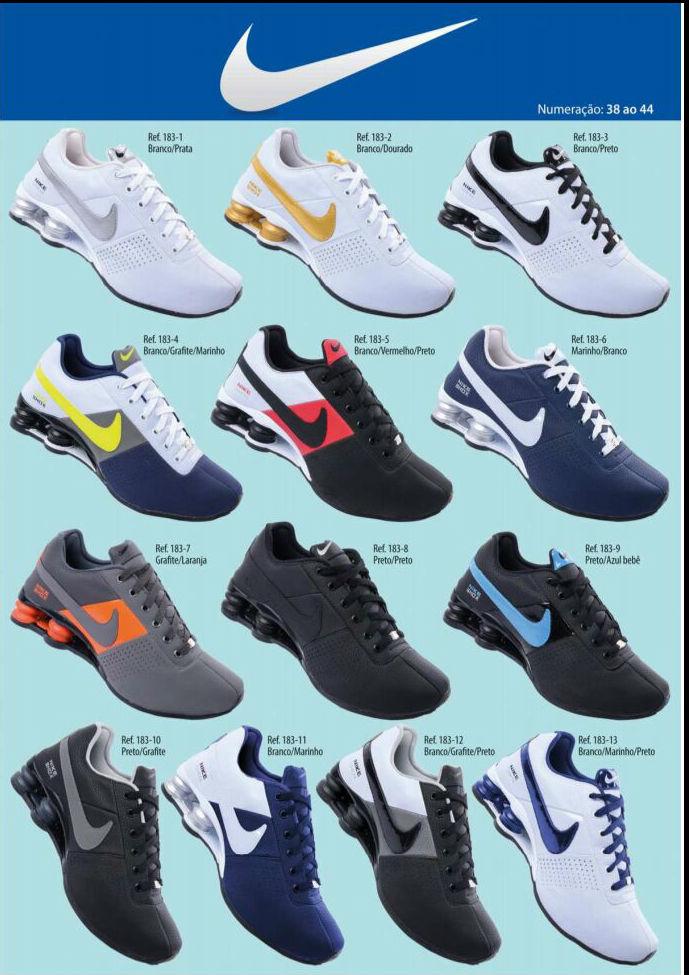 Grade Fechada 12 Pares Nike Shox Deliver – Ref 1831