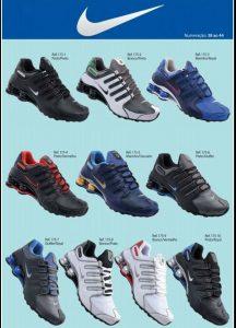 Grade Fechada 12 Pares Nike Shox NZ – Ref 1751
