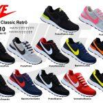 Grade Fechada 12 pares Nike Air Classic Retrô-Ref 010