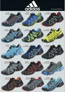 Grade Fechada 12 Pares Tênis Adidas SpeedCross 3 – Ref 1001