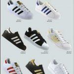 Grade Fechada 12 Pares Tênis Adidas Super Star – Ref 1771