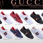 Grade Fechada 12 Pares Tênis Gucci – Ref GUC