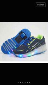 Grade Fechada 12 pares Tênis Nike de Rodinha – Ref 1801