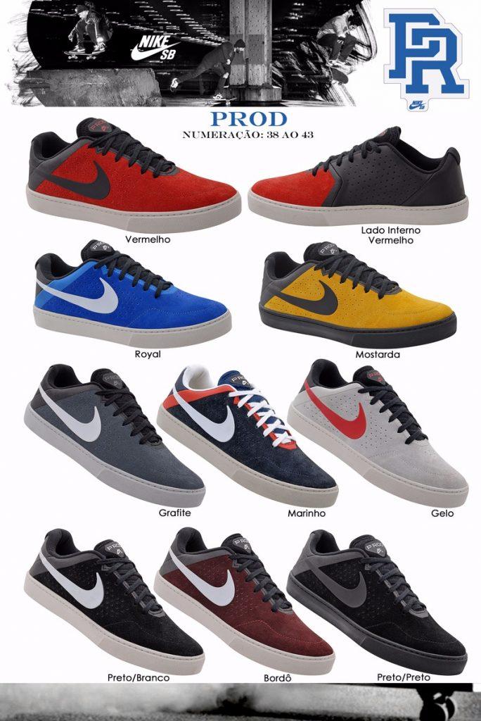 Grade Fechada 12 Pares Tênis Nike Prod – Ref PR