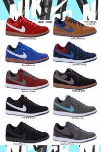 Grade Fechada 12 Pares Tênis Nike SB – Ref 008