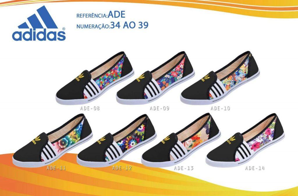Grade Fechada 12 Pares Sapatilha Adidas – Ref ADE