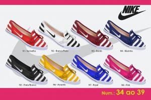 Grade Fechada 12 Pares Sapatilha Nike – Ref N1