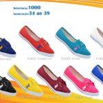 Grade Fechada 12 pares Sapatilha Polo – Ref 1000