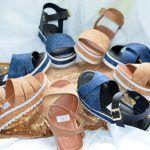 Grade fechada 12 pares sandálias fachetadas – Ref : 035