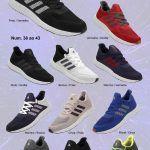 Grade Fechada 12 pares Tenis Adidas 3D – Ref: AD3D
