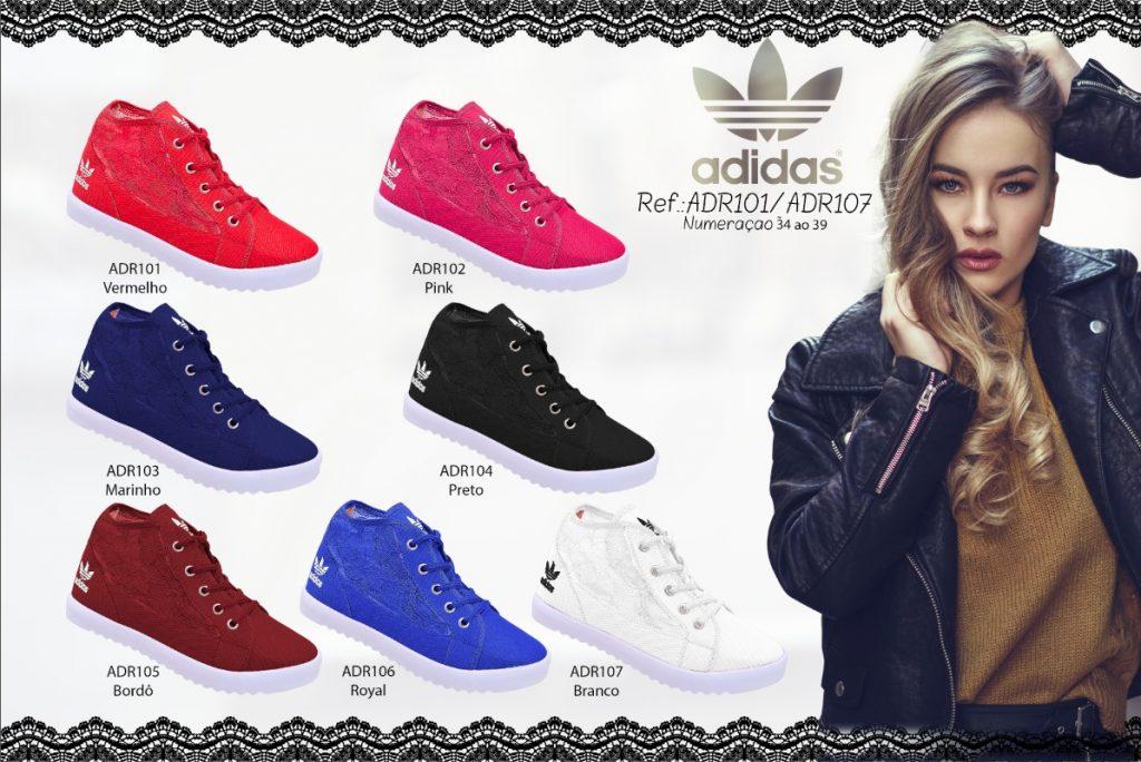 Grade Fechada 12 Pares Sapatilha Adidas – Ref ADR101/107