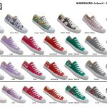 Grade fechada 12 pares All Stars – Ref: 101-102- 105