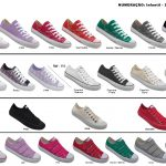 Grade fechada 12 pares All Stars – Ref: 106 -111 – 132 – 133