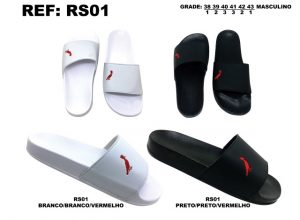 Grade Fechada 12 Pares – Chinelo Slide – Ref RS01
