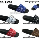 Grade Fechada 12 Pares – Chinelo Louis Vuitton – Ref LV01