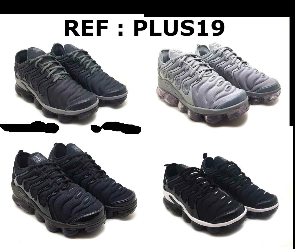 Grade fechada 12 pares Tenis Plus – REF : PLUS19