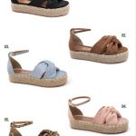 Grade fechada 12 pares sandálias – REF: AB1005