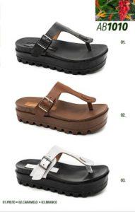 Grade fechada 12 pares sandálias – REF: AB1010