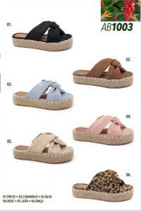 Grade fechada 12 pares sandálias – REF: AB1003