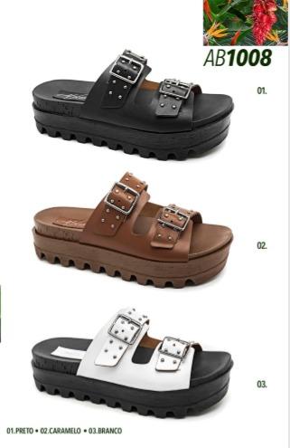 Grade fechada 12 pares sandálias – REF: AB1008