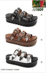Grade fechada 12 pares sandálias – REF: AB1009