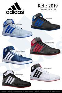 Grade Fechada 12 pares Bota Adidas Crazy – Ref : JU450