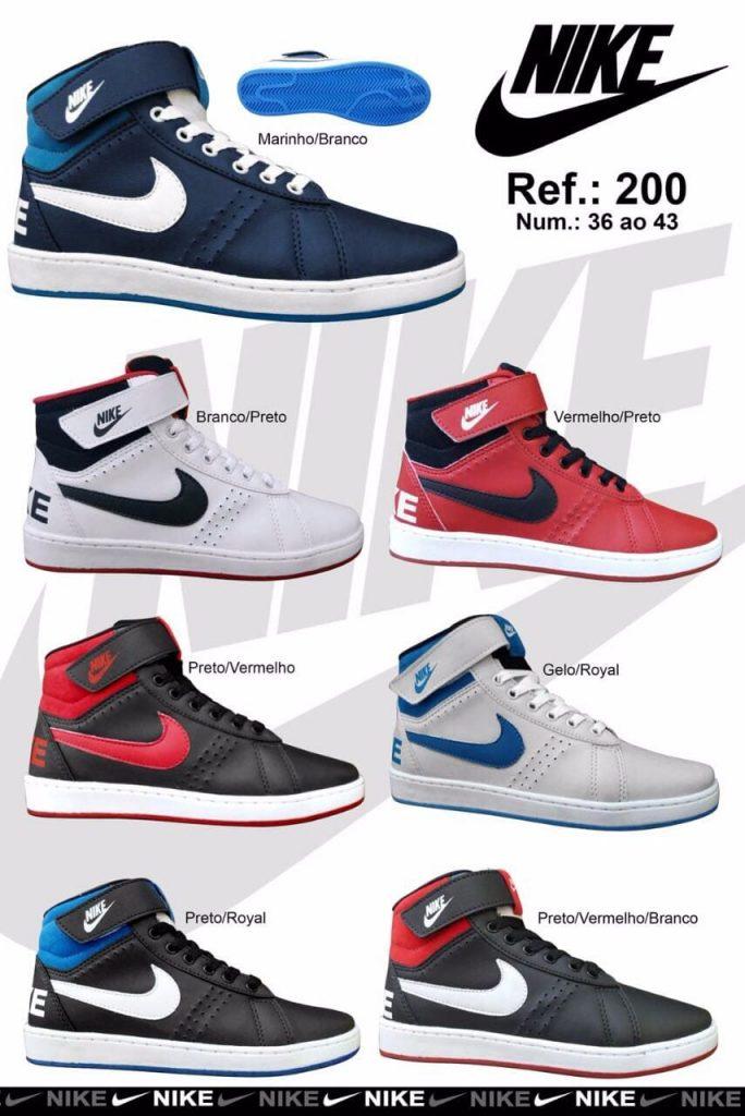 Grade Fechada 12 pares Bota Nike EIG – Ref : JU300