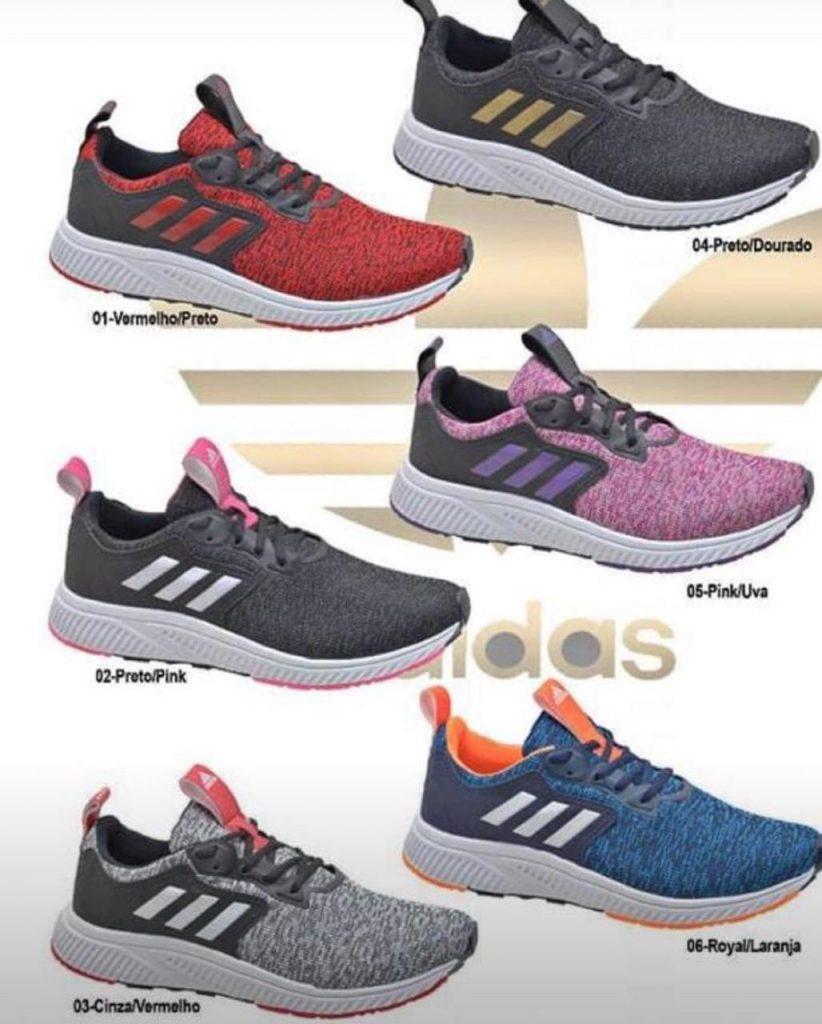 Grade Fechada 12 pares Tênis Adidas  – Ref: RAD58