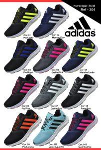 Grade Fechada 12 pares Tênis Adidas  – Ref: VAL304