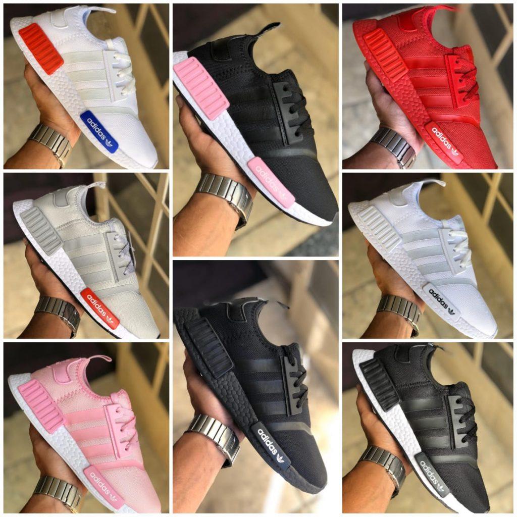 Grade Fechada 12 pares Tênis Adidas – Ref: NMD01