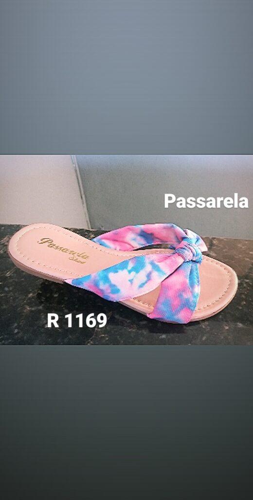 Grade fechada 12 pares Rasteirinha – Ref : DN1169